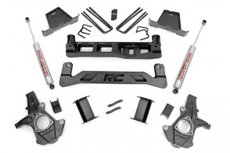 "ROUGH COUNTRY - 2007-13 GM 1500 2WD 7.5"" LIFT KIT: 263.2"