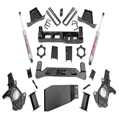 "ROUGH COUNTRY - 2007-13 GM 1500 4WD 7.5"" LIFT KIT: 264.2"