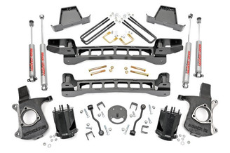 "ROUGH COUNTRY - 1999-2006 GM 1500 2WD 6"" LIFT KIT: 23420"
