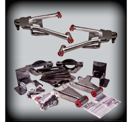 DJM - 2007-17 2/3 COMPLETE LOWERING KIT 2WD W/CAST SPINDLES - DJM2515-2/4