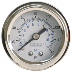 "Viair 2"" Single Needle Air Gauge"