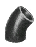 ELBOW MALLEABLE CAST IRON GALV 45DEG 2