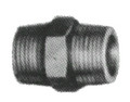 NIPPLE HEXAGON MALLEABLE CAST IRON GALV 1/2