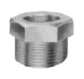 BUSH STEEL HEX 1/4X1/8 THREADED FOR H.P. PIPE FITTING