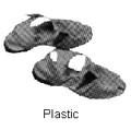 SANDALS PLASTIC SIZE-LL