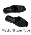 SANDALS PLASTIC SLIPPER-TYPE SIZE-M