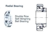 BALL BEARING DOUBLE ROW DEEP GROOVE NO.1206K