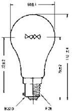 LAMP NAVIGATION B-22 220V 60W