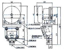 ALARM BELL EXPLOSION-PROOF BX-10C AC200V 22VA 85DB