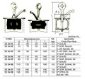 IMPA 232481 Scupper plug , size 40 - 65 mm (synthetic plates) - Cobolt NP-1 (B)