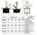 IMPA 232482 Scupper plug , size 50 - 75 mm (brass plates) - Edicon SP2 (A)
