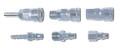 "IMPA 351221 Stainless steel quick coupler socket / 1/4"" hose end  - Edicon 20SH (B)"