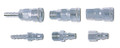 "IMPA 351221 Stainless steel quick coupler socket / 1/4"" hose end  - Nitto Kohki 20SH"