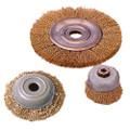 "IMPA 510761 Wire cup brush standard - B-quality - _Ç÷75mm x arbor 5/8"""