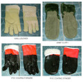 GLOVES WINTER VINYL LEATHER SIZE M