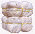 RAG COTTON OVER 60% STERILIZED WHITE