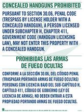 Concealed Handgun Poster