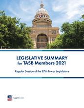 2021 Legislative Summary for TASB Members - PDF