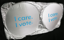 I care I vote, Sunshade
