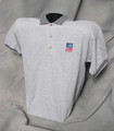 TASB Logo Golf Shirt - Gray (Taxable)