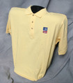 TASB Logo Golf Shirt - Yellow (Taxable)