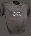 I care I vote, T-shirt