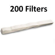 Waring Pro Juice Extractor Filter Strips 200 Pack