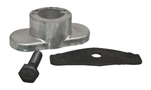 Yardman 753-06304 Lawn Mower Blade Adapter, 25mm