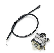 753-04296 Universal Lawn Tiller Edger Replacement Trimmer Carburetor with Primer