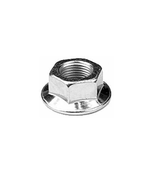 MTD Edger Hex Blade Flange Nut Replacement 712-0417A