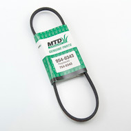 954-0343 Yard Machines Snow Thrower Drive Belt 754-0343