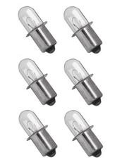 Porter Cable PC18FL 18 v Volt Flashlight Xenon Bulb (6 pack)
