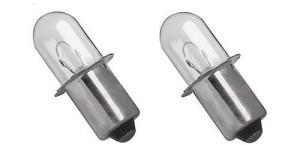 Xenon Flashlight Bulb (2 pack) for Hitachi Rigid Makita
