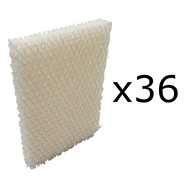 36 Wicking Humidifier Filters for Bionaire BCM646, BCM658