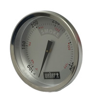 "Weber 22.5"" Smokey Mountain Cooker Thermometer Temperature Gauge"