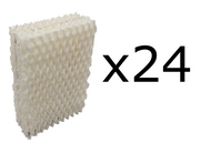 24 Humidifier Filter Wicks for Duracraft DH-832, DH-830
