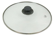 Crock Pot 3060-W-NP Slow Cooker Lid Round White Handle