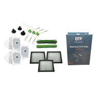 EFP Replenishment Kit for iRobot Roomba E5, E6, i7, i7+, i7 Plus Robotic Vacuum - 3 Filters, 3 Spinners, 2 Rollers, 3 Bags