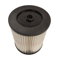 EFP Red Stripe General Purpose Wet/Dry Vac Cartridge Filter for Craftsman 9-17816, 17816, 8.5 inches with Sealing Cap
