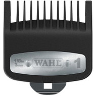 "Wahl Professional Premium #1 Cutting Guide with Metal Clip 1/8"" #3354-1300"