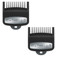 "2 Wahl Professional Premium Cutting Guide with Metal Clip #1 (1/8"") #3354-1300"