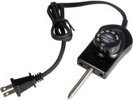 Presto 6900 Electric Griddle Heat Control, Black
