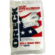 Oreck XL Ironman Compact Canister Hypo Allergenic Vacuum Bags 5 Pk Part # PKIM76.5, PKIM765