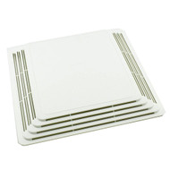 Broan S97013576 Bath Fan Ventilation Grille White