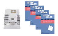 DVC Paper Replacement Bags Type J Fit Shop-Vac 16-22 Gallon Wet Dry Vacuums, 12 Bags