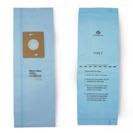 DVC Micro-Lined Paper Replacement Bags Style F Fit Riccar Simplicity, Supralite, Freedom Models, 12 Bags