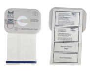 DVC Micro-Lined Paper Replacement Bags Style C Fit Electrolux Canister Models - 12 Bags