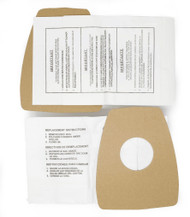 DVC Micro-Lined Paper Replacement Bags Style C Fit Eureka Mighty Mite 3000, 3100 Series -9 Bags