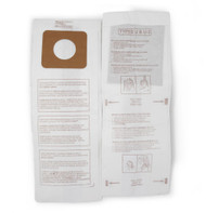 DVC Micro-Lined Paper Replacement Bags Style U, U-3, and U-6 Fit Panasonic Models MC-V5100, 5200, 5300, 5500, 6200, 6300, 6600, 6700, 6800, 6900 - 20 Bags