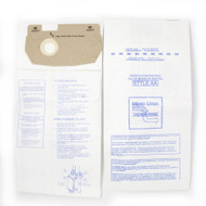 DVC Micro-Lined Paper Replacement Bags Style AA Fit Eureka Victory, True, Whirlwind Models 4100, S4170, 4300, 4386AT, 4400, 4478AT, 4600, 5180 and Sanitaire S4170AT, SC4570, SC4570AT, SC4570AT-1, SC4580 - 9 Bags